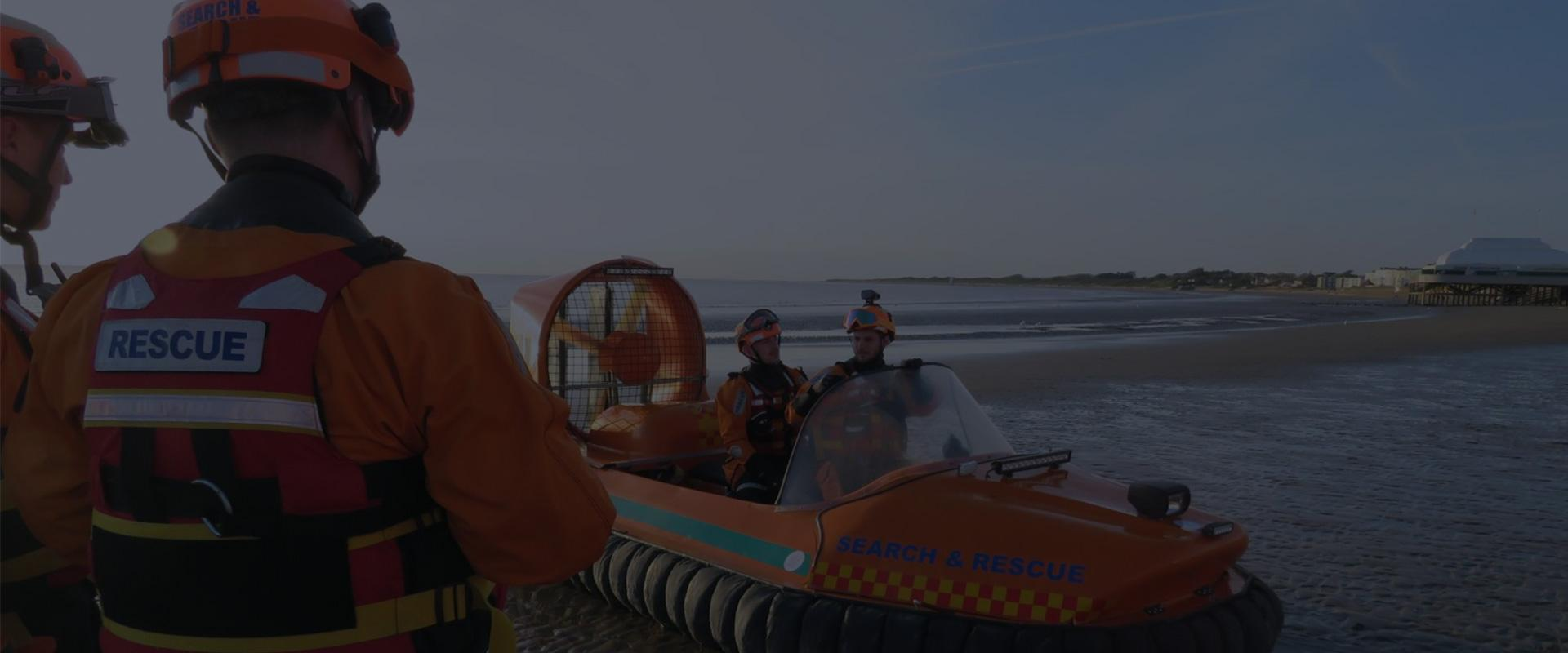 Delivering a life saving rescue service to Burnham-on-Seas coast