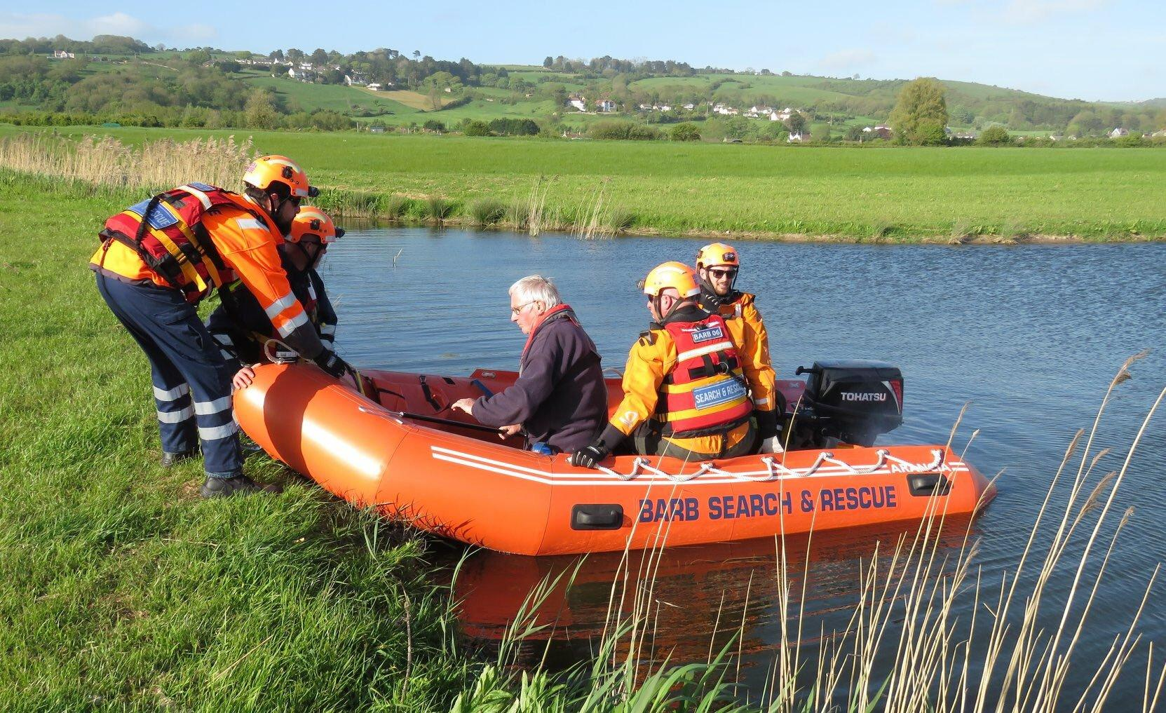 Delivering a life-saving rescue service in Burnham-on-Sea