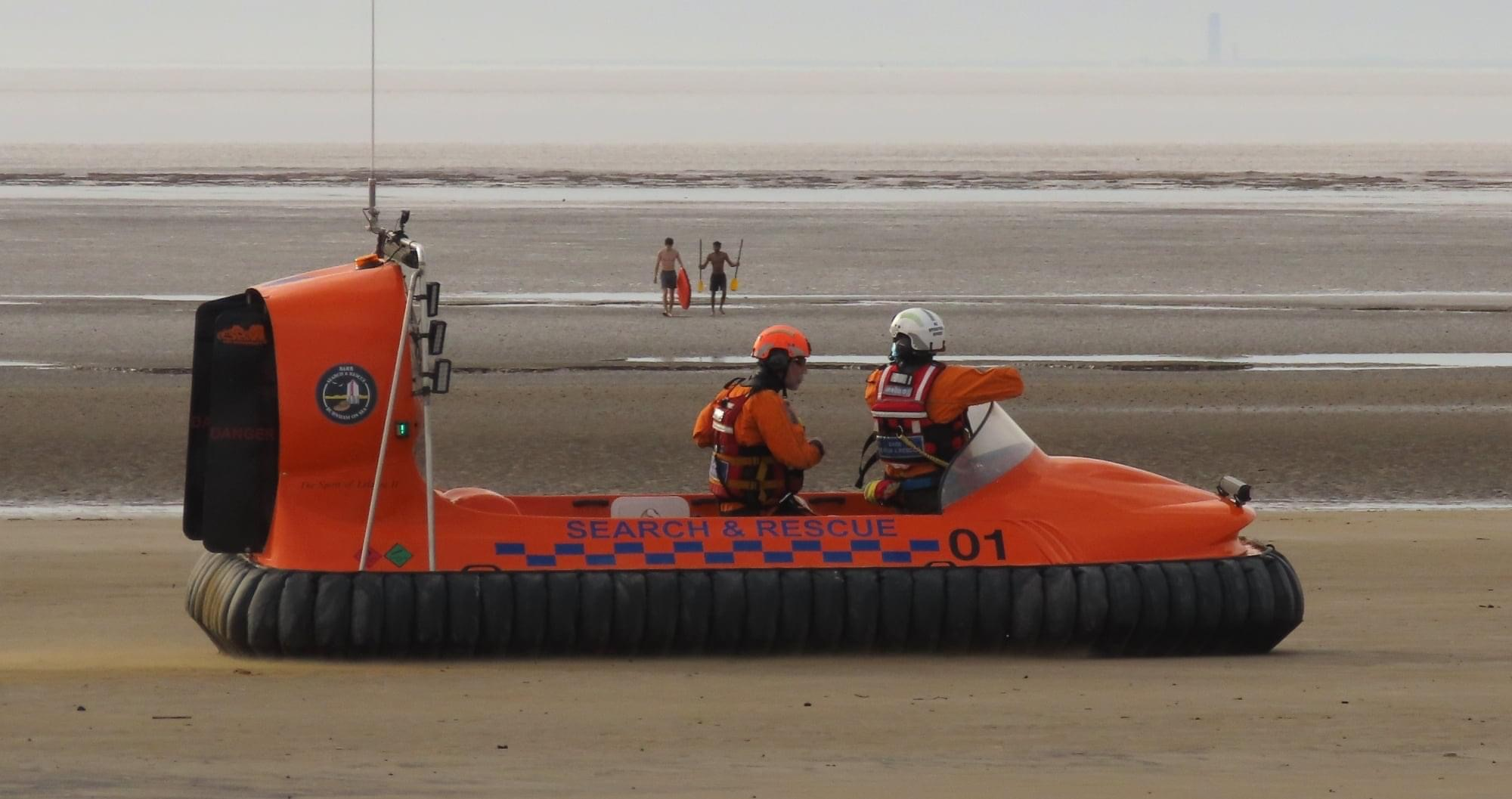 #05 – TWO PERSONS ATTEMPTING TO REACH THE SEA – 30/03/2021